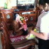 """Liên đội trường thăm hỏi Mẹ Việt Nam anh hùng: """"Trần Thị Hội"""""""
