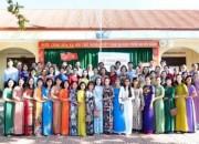 trường THCS Phan Đình Phùng hưởng ứng tuần lễ áo dài Việt Nam
